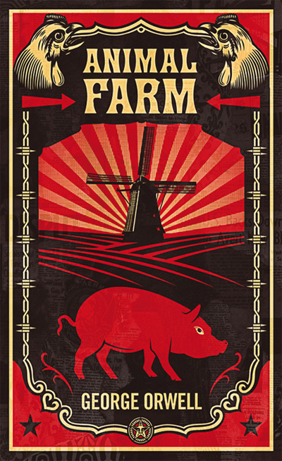 a comparison of the depiction of animals in the novel animal farm by george orwell and the movie bab Animal farm: home george orwell leon trotsky leon trotsky was in the victory at the beginning of the novel when snowball led the animals to fight against.