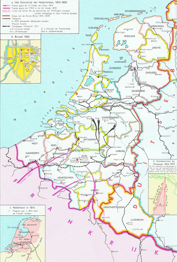 the kingdom of the netherlands 1815 netherlands belgium